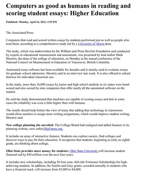 Thesis About Higher Education | 24 best automated essay research images on pinterest