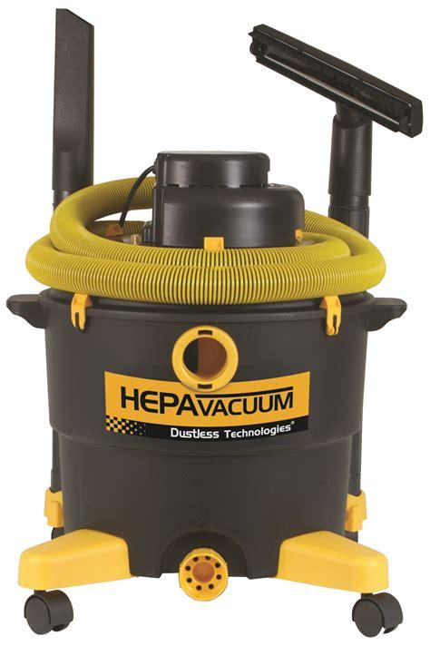 vacuum with hepa filter hepa wet dry vacuum dustless tools