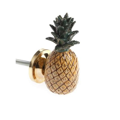 pineapple trend totally tropical pineapple door knob from rockett st