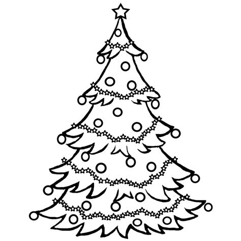 clip art black and white xmas trees clipart clipart suggest