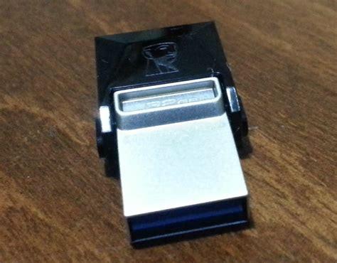 Flashdisk Kingston Microduo Usb 30 Otg 32gb Dtduo332gb Black kingston 32gb datatraveler microduo usb 3 0 otg usb bellek