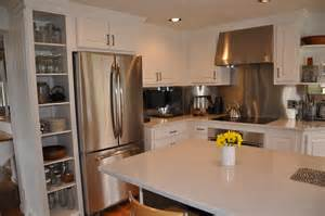 White Kitchen Cabinets With White Quartz Countertops - white quartz countertop installed in frankfort ny quartz top