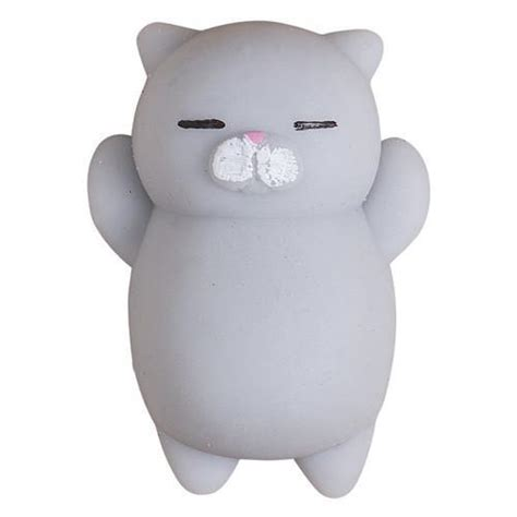 Lovely Pink Cat Squishy squishy cat stress reliever meowaish
