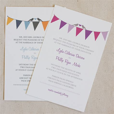 free printable wedding invitation templates simple and