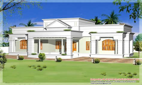 best one story house plans single storey house design plan