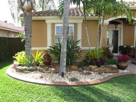 Florida Backyard by House Living Rooms Florida Front Yard Landscaping