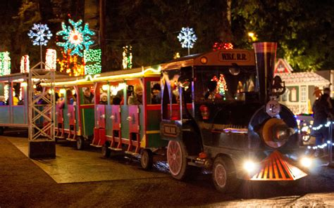 christmas activities in wa state the best light displays in every state travel leisure
