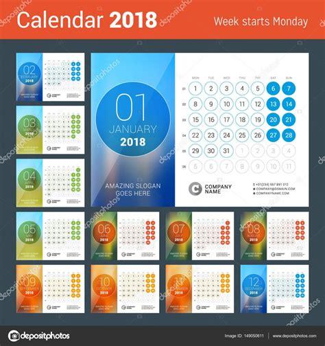 calendari da tavolo con foto calendario da tavolo per anno 2018 modello sta di