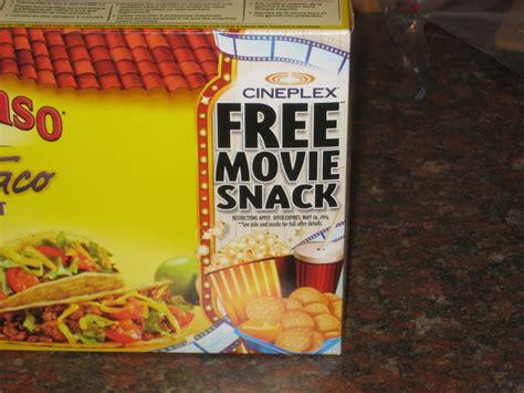 cineplex free movie offer cineplex general mills free movie offer is back