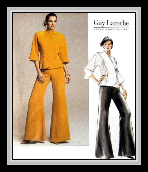 kimono pants pattern vogue paris original sewing pattern guy laroche french