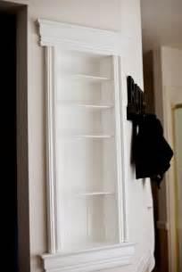 build recessed shelves diy recessed wall shelf diy