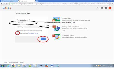 cara membuat nama channel youtube panduan lengkap cara membuat channel youtube tips trik