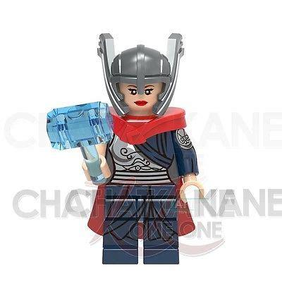 Lego Thor Ragnarok Brick Minifigure With Axe And Hammer mister terrific dc universe heroes minifigures bricks blocks 2017 new cad 3 77