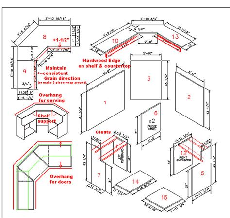 free bar plans and layouts pdf woodworking