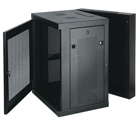 wall mount rack enclosure server cabinet tripp lite srw15us 15u wall mount rack enclosure server