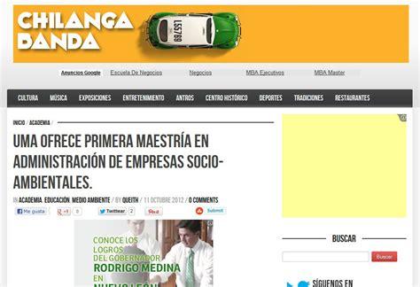 Green Mba Mexico by Universidad Medio Ambiente Prensa Y Entrevistas