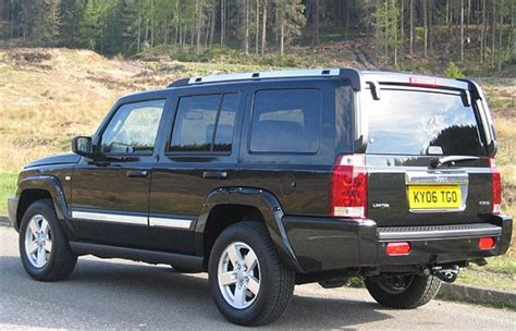 Jeep Commander Towing Capacity 2006 Jeep Commander 2006 Road Test Road Tests Honest