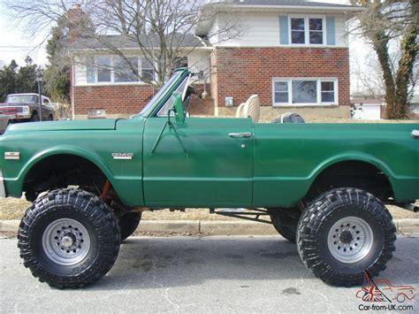 1972 gmc jimmy rare 1972 gmc jimmy half cab convertible cheyenne 1500