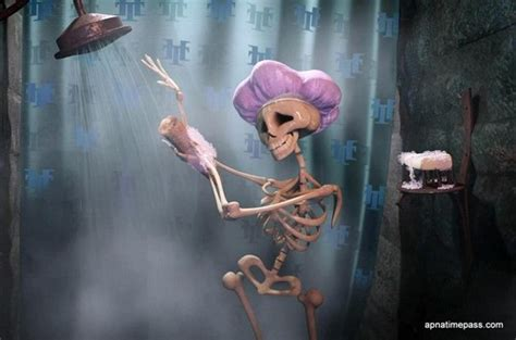 I Took A Shower by Hotel Transylvania Images I M Just A Skeleton Taking A