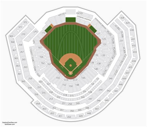 busch stadium seating prices busch stadium seating chart seating charts and tickets