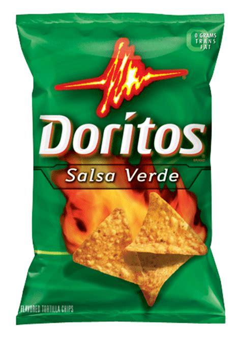 doritos salsa verde flavored tortilla chips 9 75 oz pack