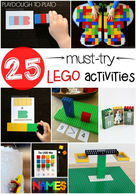 Must Try by 25 Must Try Lego Activities Playdough To Plato Autos Post