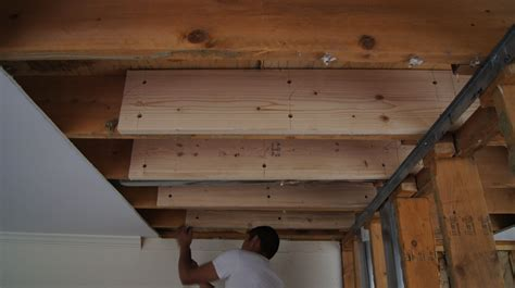 Sistering Floor Joists With Plywood Review Home Decor