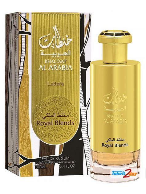 Parfum Blend Royal Edp 100ml lattafa khaltaat arabia royal blend perfume for 100 ml edp