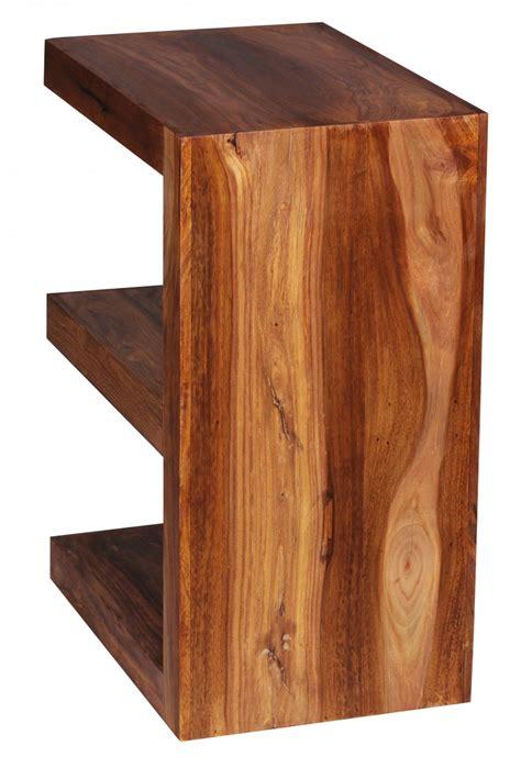etagere 44 cm wohnling solide table d appoint en bois quot e quot cube 44 cm