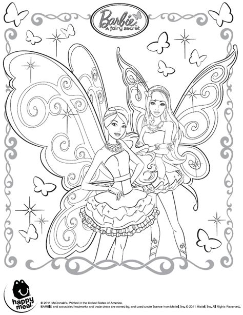 Coloring Pages Barbie Fairy Secret | pop star princess barbie coloring pages coloring pages