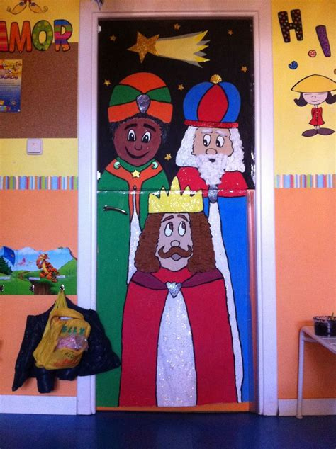 decorar aulas navidad ideas navidad decorar puertas aulas material estimulacion