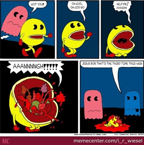 Pacman Memes - pac man by i r wiesel meme center