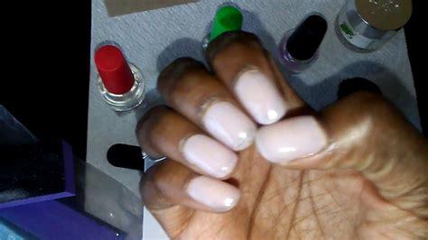 sns nails review diy
