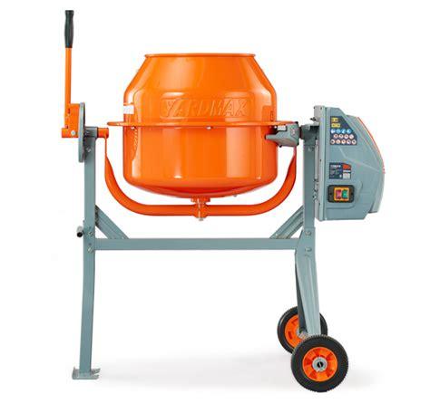 Mixer Lg yardmax 4 0 cu ft concrete mixer