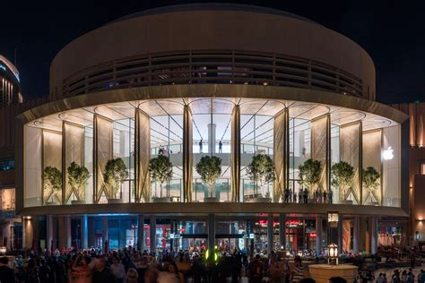 dubai mall store opens to visitors one of the world s largest kinetic
