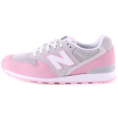 grey and pink new balance sneakers new balance wr 996 kg womens trainers in grey pink