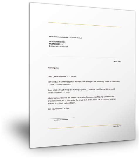 Brief Zu Lieferverzug au 223 erordentliche k 252 ndigung vorlage k 252 ndigung vorlage fwptc