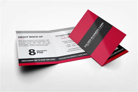 folded card template 63 business cards