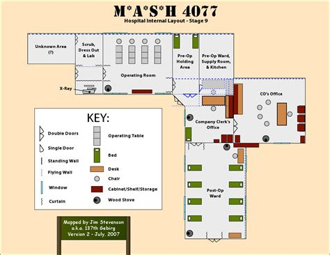 layout hospital the c mash4077tv com