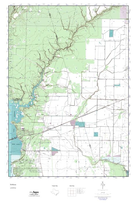 huffman texas map mytopo huffman texas usgs topo map