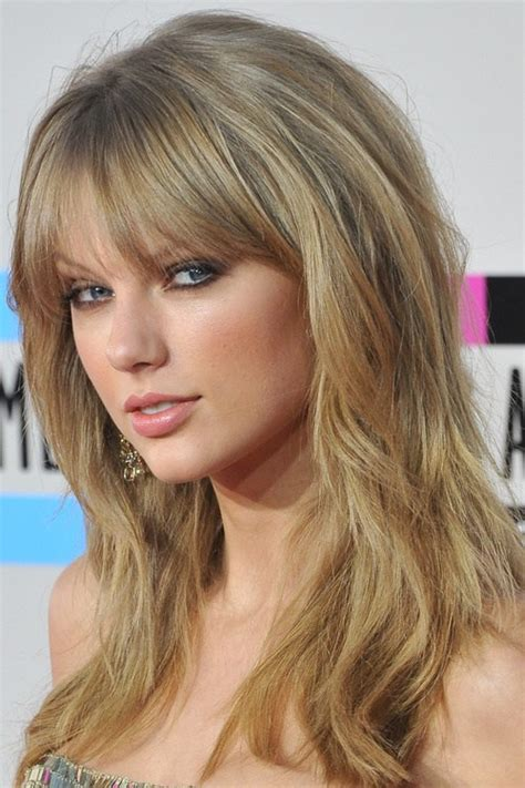 eye grazing bangs 40 cute and effortless long layered haircuts with bangs