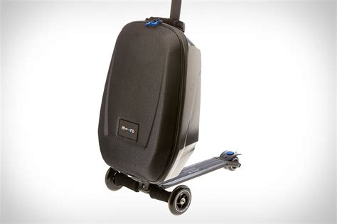 Rugged Leather Bag Micro Scooter Luggage Uncrate