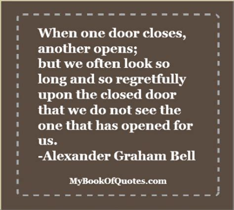 One Door Closes Another Opens by When One Door Opens So Does Another One By A C H Smith