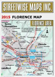 florence pocket map and streetwise florence map laminated city center street map of florence italy folding pocket