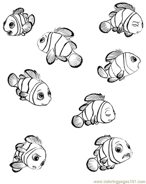 finding nemo coloring pages games finding nemo coloring 01 coloring page free finding nemo