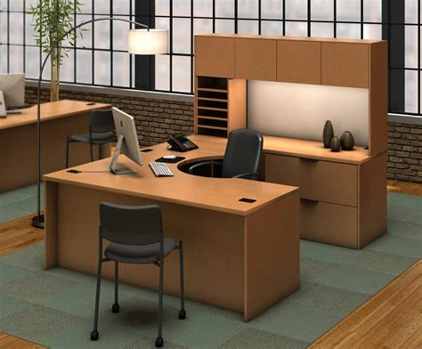 Locking Computer Desk Modular Executive Desks Office Furniture