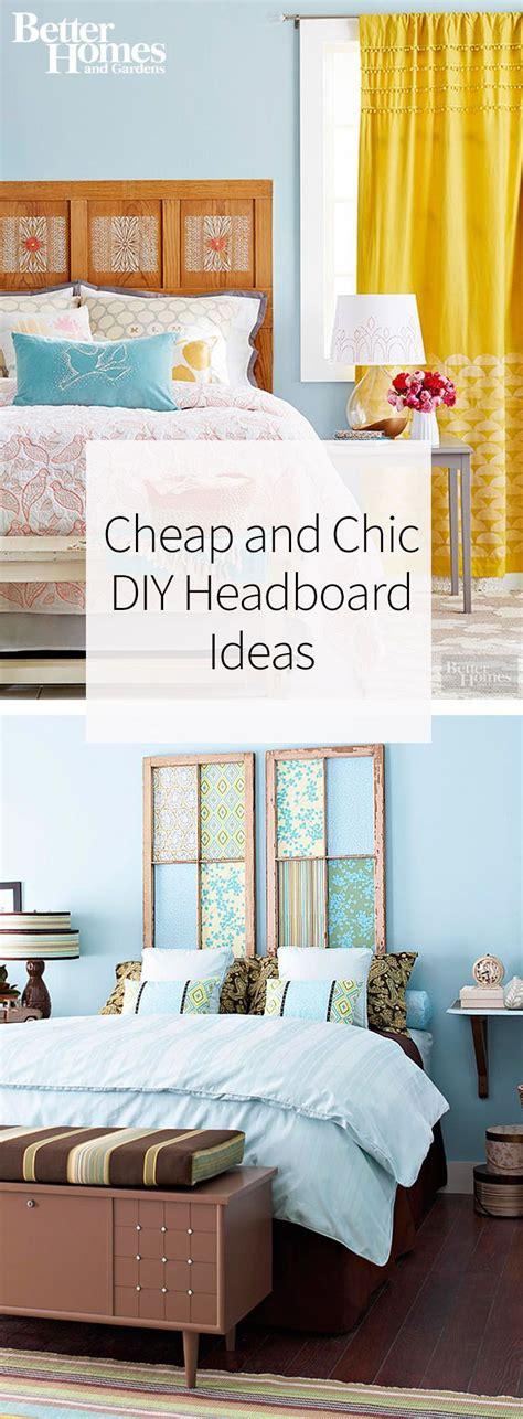 diy headboard ideas cheap cheap and chic diy headboard ideas pinterest diy