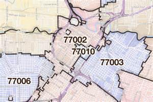 houston map zip codes houston tx zip code map
