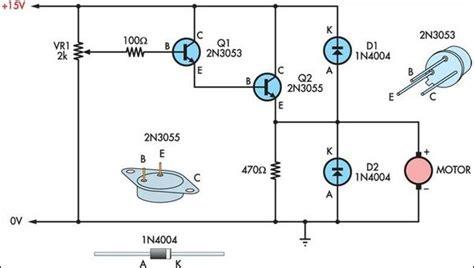 transistor sebagai saklar motor dc fungsi transistor darlington 28 images pengontrol kecepatan motor dc dengan transistor