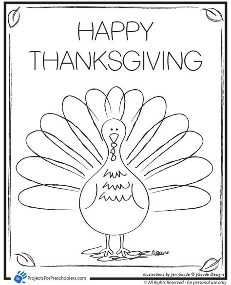 printable turkey book thanksgiving coloring pages free printable happy
